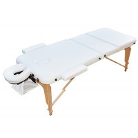 Массажный стол ZENET ZET-1047/L белый