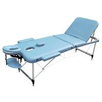 Массажный стол ZENET ZET-1049/L голубой