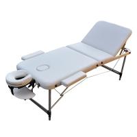 Массажный стол ZENET ZET-1049/L белый